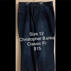 Like New Classic Fit Jeans
